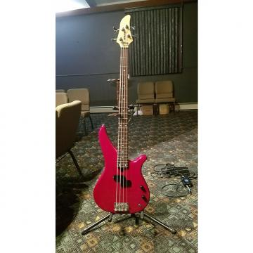 Custom Yamaha RBX-260 4-String Bass Guitar (Red-Finish) - Includes Strap and Gig Bag