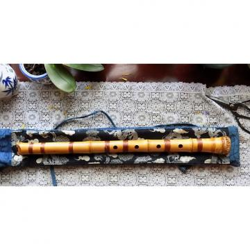 Custom Vintage Shakuhachi with Carry Bag and Instruction Book