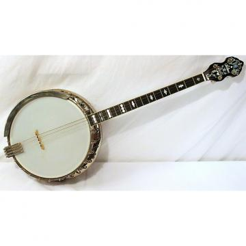 Custom Vintage Bacon & Day (B&D) Silver Bell Tenor Banjo