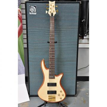 Custom Schecter Stiletto Custom-5 2016 Natural Bass