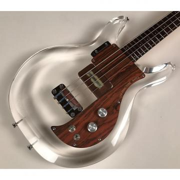 Custom 1970 Ampeg Dan Armstrong Lucite Bass owned by Jim Ellison of Material Issue