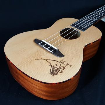 Custom New Ortega RU5 RU 5 Concert Ukulele Laser Engraved Top