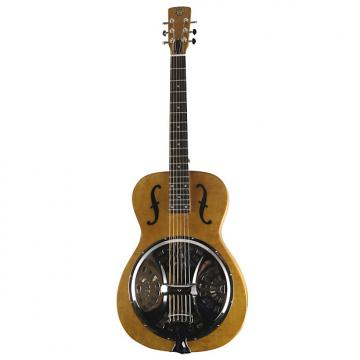 Custom Dobro Hound Dog Roundneck Resonator Dwhoundrn -Natural