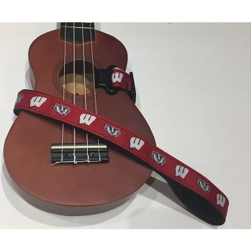 Custom Wisconsin Badgers Ukulele Strap