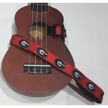 Custom Georgia Bulldogs Ukulele Strap