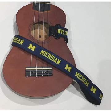 Custom Michigan Wolverines Ukulele Strap