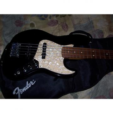 Custom Fender Jazz Bass 5 String with Upgrades W/Bag 2000 Black