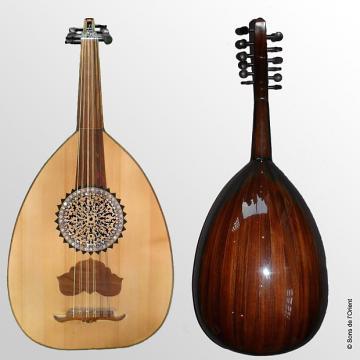 Custom Mahmud Mostafa Oud Egyptien Pro