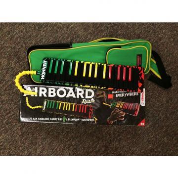 Custom Hohner Airboard 32 Key Melodica Rasta