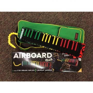 Custom Hohner Airboard 37 Key Melodica In Rasta Finish