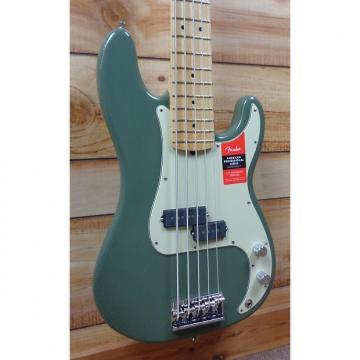 Custom New Fender® American Professional Precision Bass® V Maple Fingerboard Antique Olive w/Case