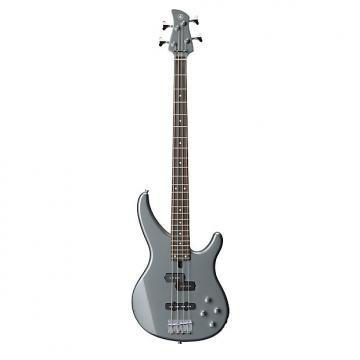 Custom Yamaha TRBX204 Active 4-String Electric Bass Guitar Rosewood Grey Gray Metallic