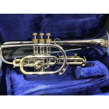 Custom Used King Tempo Silver Cornet 1965-70 with Original Case