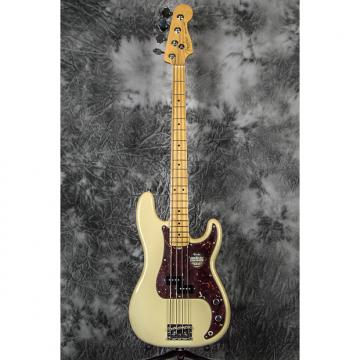 Custom Fender American Standard Precision Bass Olympic White w/ Maple Fretboard