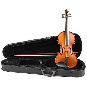 Custom New Palatino VN-300 VN300 3/4 size all solid wood Violin w/ case and bow
