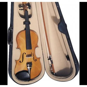 Custom New Palatino VN-300 VN300 4/4 all solid wood Violin w/ case and bow