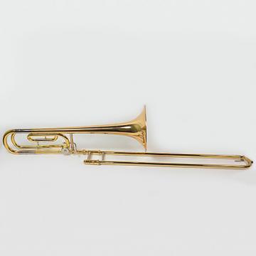 Custom Used Yamaha YSL-448G Intermediate Trombone w/F-Attachment