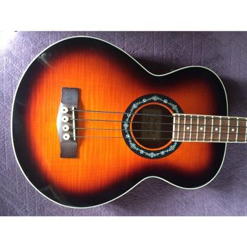 Custom Fender T-Bucket Acoustic/Electric Bass Guitar 2016 3-Color Sunburst LOCAL PICK-UP ONLY
