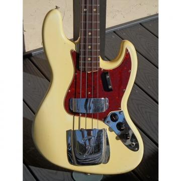 Custom Fender Jazz Bass 1965 Olympic White