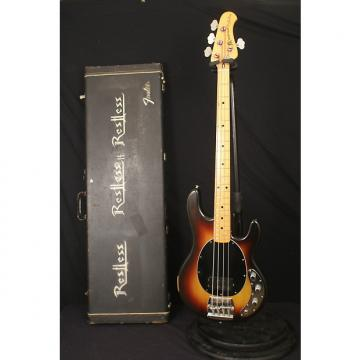 Custom Pre Ernie Ball Music Man Stingray 1978 Sunburst all original with EPOXY + a Fender hardshell case