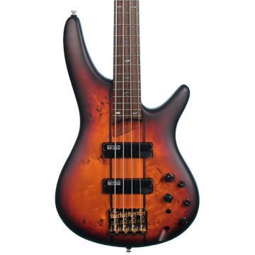 Custom Ibanez SR800-AWT Bass Guitar with Bartolini Mk-1 Pickups, Aged Whiskey Burst