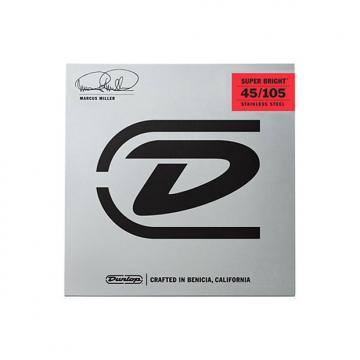 Custom Dunlop DBMMS45105 Marcus Miller Super Bright MD-4 String