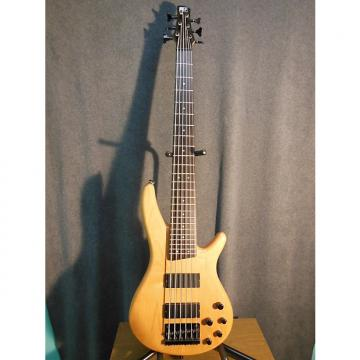 Custom Ibanez SR406 Natural 6 string Bass