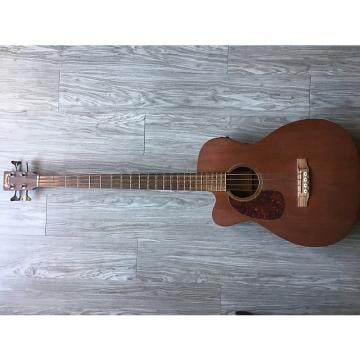 Custom Martin BC 15E Lefty Mahogany Acoustic Bass Mahogany