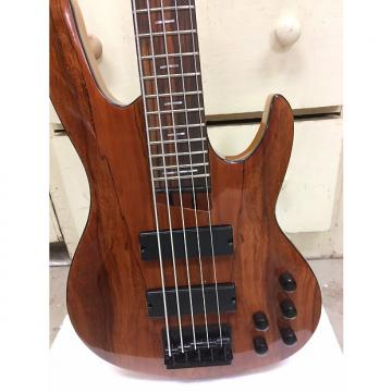Custom Custom Built 5 String Bass Guitar 2016 Honey Brown