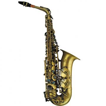 Custom Schiller Elite V Luxus Vintage Alto Saxophone - Antique Gold
