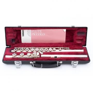 Custom Yamaha YFL-385 Open-Hole Flute w/ Case