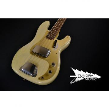 Custom Fender Custom Shop 1959 Journeyman Precision Bass - Vintage Blonde