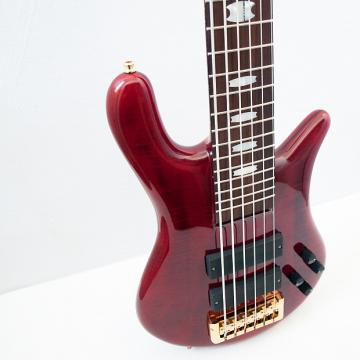 Custom Spector Euro 6 LX Black Cherry