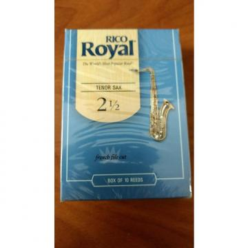 Custom Rico Royal  #2-1/2 Tenor Saxophone Reeds