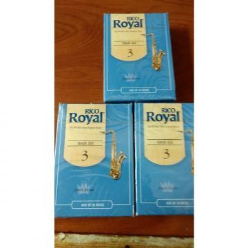 Custom Rico Royal #3 Tenor Saxophone Reeds