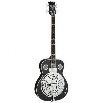 Custom Dean Resonator Acoustic/Electric Bass - CBK