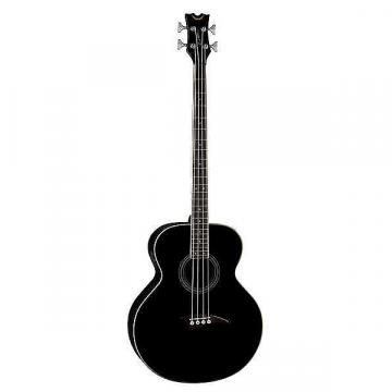 Custom Dean Acoustic/Electric Bass - Classic Black