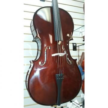 Custom Oxford Full Size Cello Outfit 2017 Natural Dark