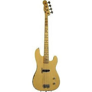 Custom Fender Custom Shop Dusty Hill Signature Precision Bass - Nocaster Blonde (0158602899)