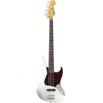 Custom Squier Vintage Modified Jazz Bass Guitar - Olympic White