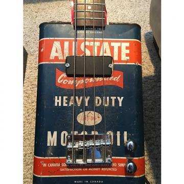 Custom Hayburner Vintage Oil Can Bass Guitar