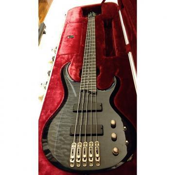 Custom Ibanez Btb405qm Black Transparent