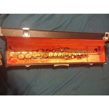 Custom Yanagisawa Soprano Pro Horn 1977 Gold Laquer