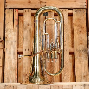 Custom Eastman EEP321 Euphonium Outfit *Rental Inventory Closeout* 2010's Brass Lacquer