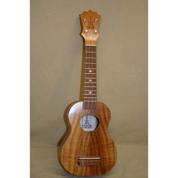 Custom KoAloha Opio Soprano ukulele Acacia w/bag