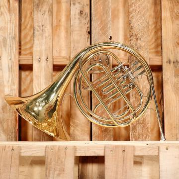 Custom Conn 14D Single French Horn Outfit *Rental Inventory Closeout* 2010's Brass Lacquer