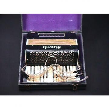 Custom Vintage German Made Stark Art Deco Style 12 Bass Accordion in  Original Case & Ready to Play as-is