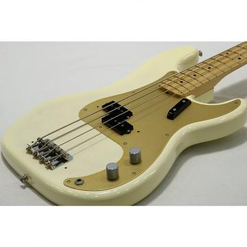 Custom Fender USA American Vintage 58 Precision Bass White Blonde