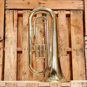 Custom Yamaha YEP-201 Standard Euphonium Outfit *Rental Inventory Closeout* 2010's Brass Lacquer