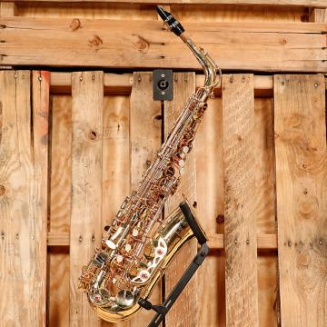 Custom Selmer Soloist Student Alto Saxophone Outfit *Rental Inventory Closeout* 2010's Brass Lacquer
